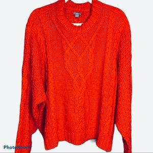 Aerie Oversized Chunky Soft Cable Knit Sweater